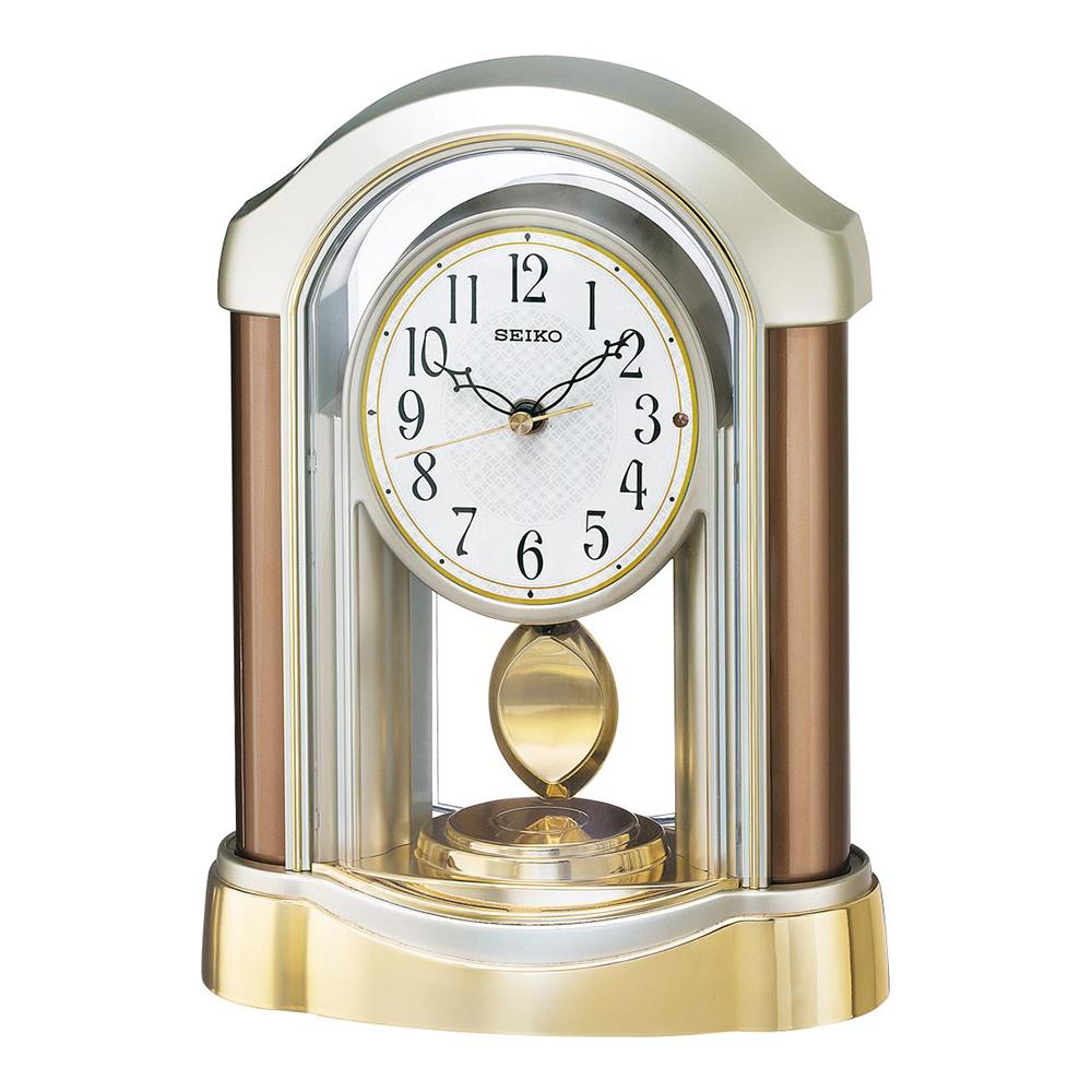 名入れ対応可 電波時計 置き時計 | セイコー 電波掛時計 | 電波時計 掛置き兼用 BZ238B | 置き時計 | お祝い 竣工 設立 新生活 記念品 プレゼント