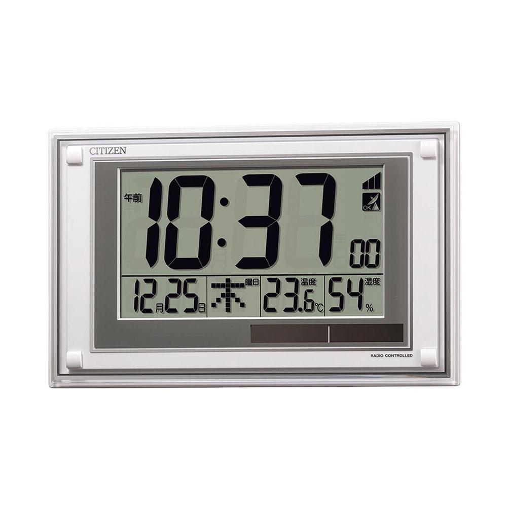 名入れ対応可 電波時計 掛け時計 8RZ189-003 / シチズン ソーラー電波時計 8RZ189-003新築祝い 竣工記念 開店祝い 開業祝い