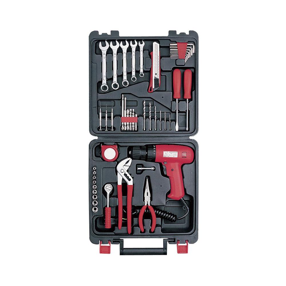 【景品 記念品 送料無料 ギフト】 工具 AC100Vドリル&ドライバー ツールセット CC-700 [電動工具セット]