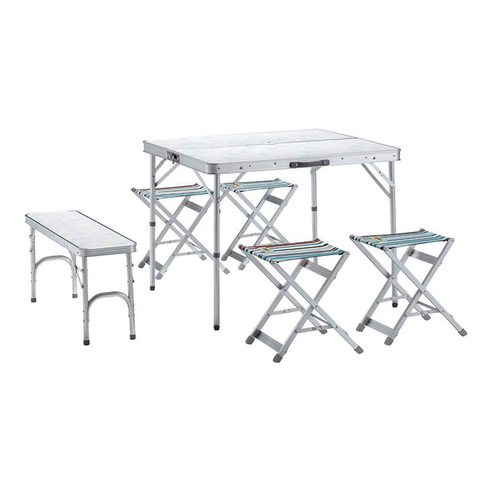 ロゴス レジャーテーブル&チェア Lifeベンチテーブルセット6 73183014 テーブル&チェアー ボウリング 忘年会 新年会 幹事