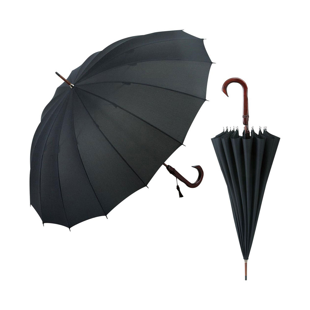 記念品 長傘 お祝い プレゼント SHK16-01 /えいきち 長傘 手作り男女兼用 フォーマル SHK16-01記念品 粗品 傘寿記念品 長寿