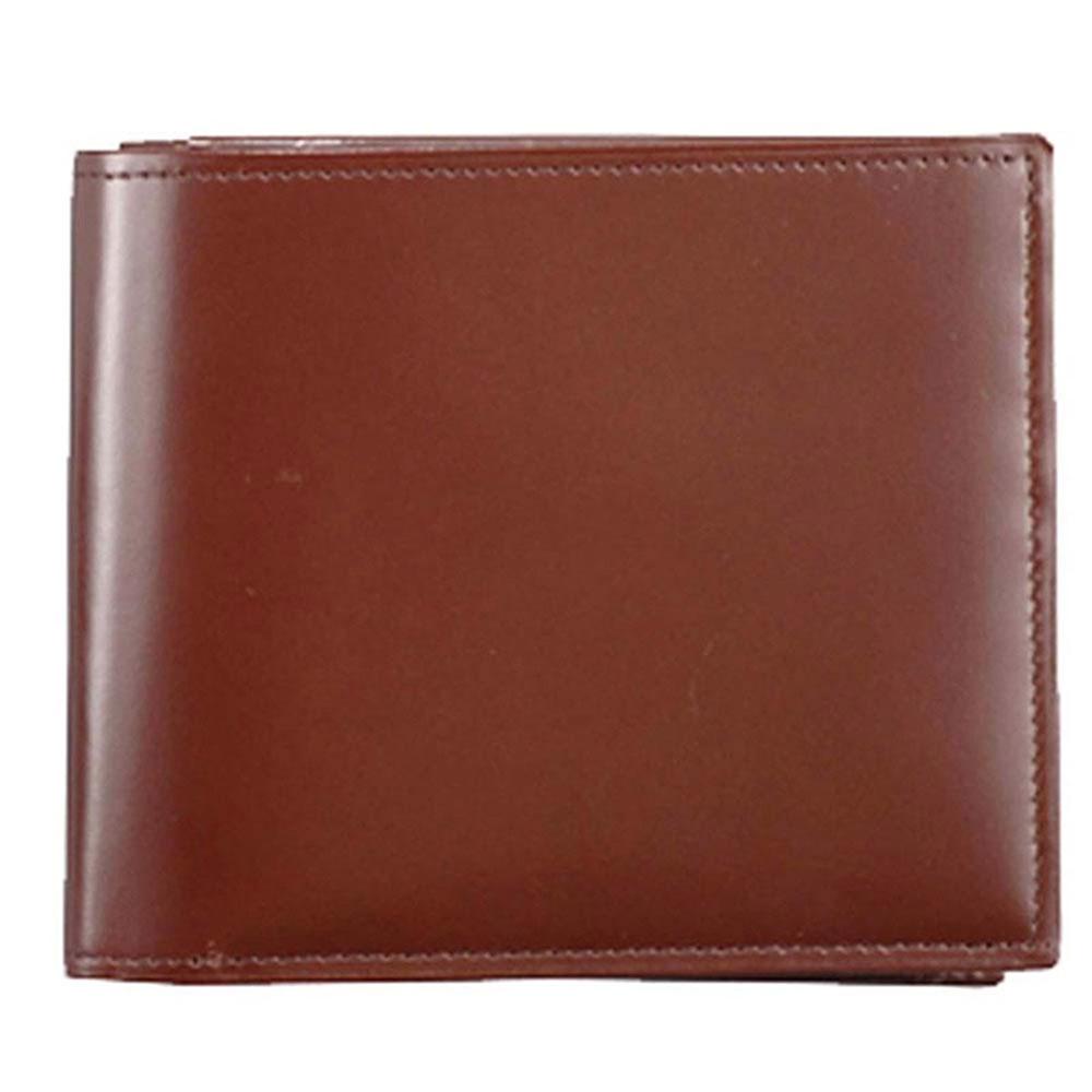 折り財布 HCK02B0-Z /banbi さとり 折財布 高級牛革 HCK02B0-Z チョコ父の日 お誕生日 お父さん