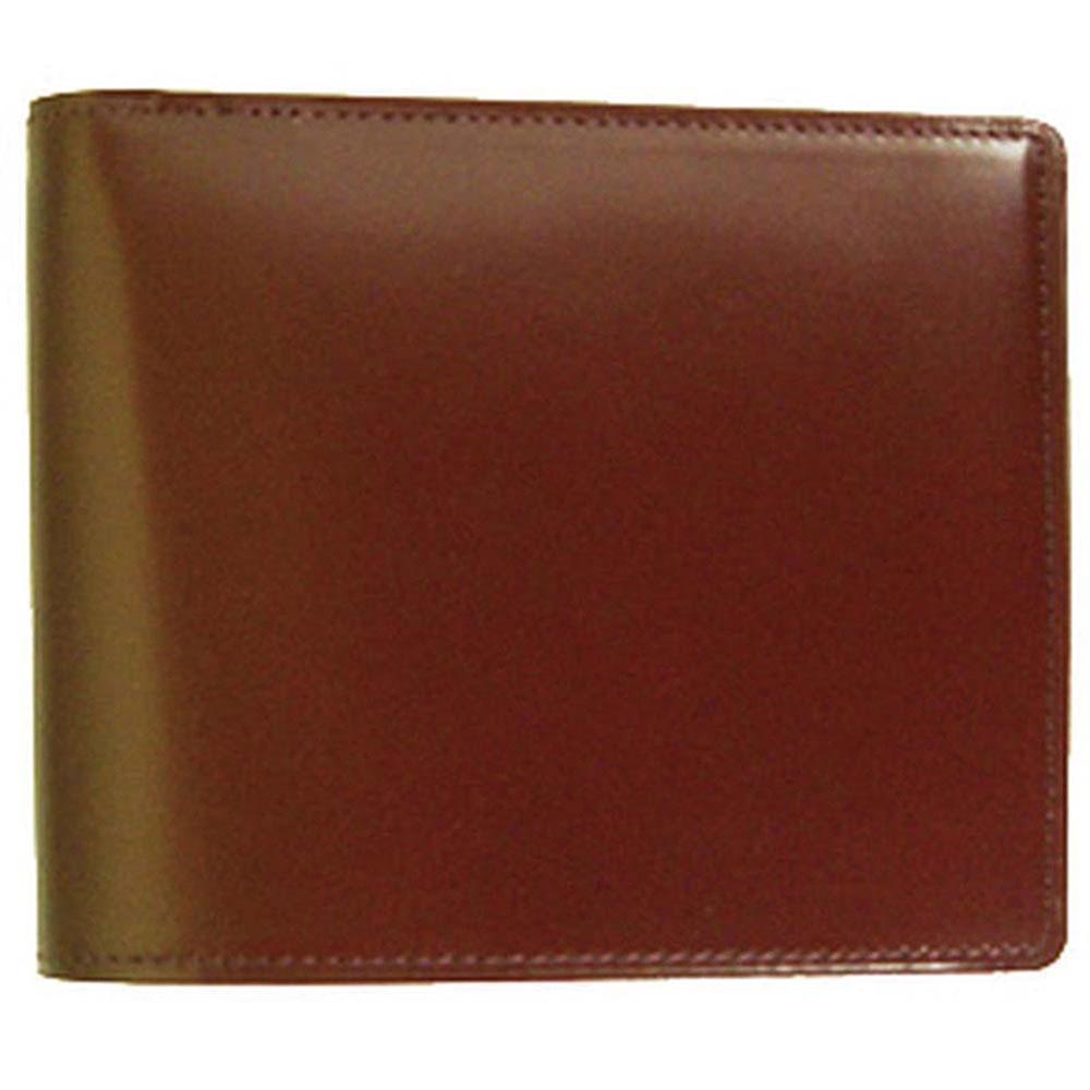 折り財布 HCK12B-Z /banbi さとりナチュラル 折財布 小銭入れなし 高級牛革 HCK12B-Z チョコ父の日 お誕生日 お父さん
