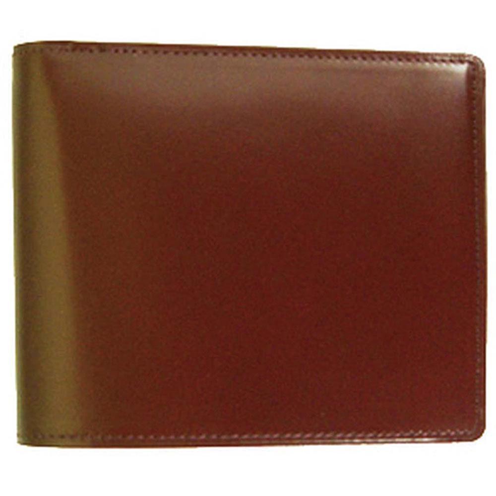 折り財布 HCK13B-Z /banbi さとりナチュラル 折財布 小銭入れあり 高級牛革 HCK13B-Z チョコ父の日 お誕生日 お父さん