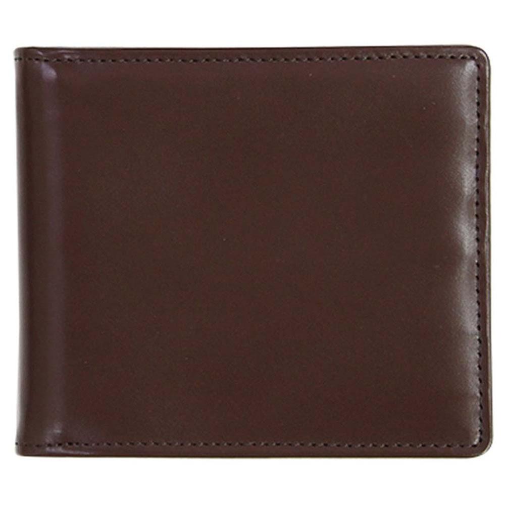 折り財布 HCK33B-Z /banbi さとりナチュラル マネークリップ 高級牛革 HCK33B-Z チョコ父の日 お誕生日 お父さん