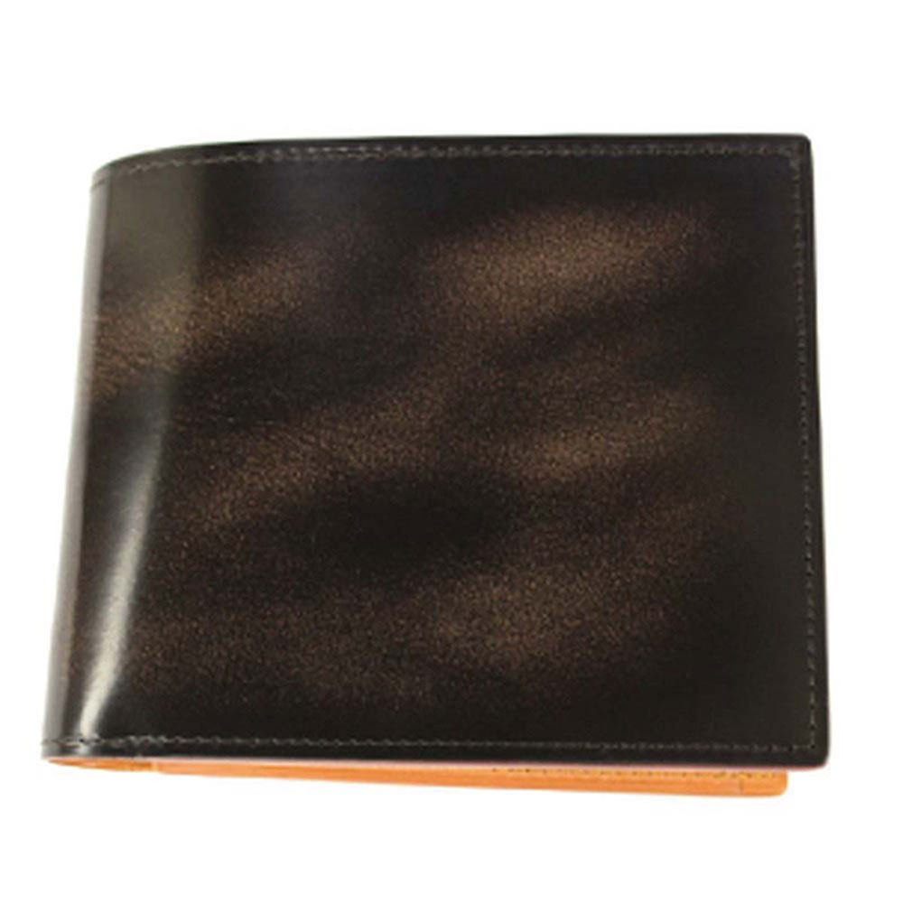 折り財布 GCKA002B-Z /banbi GREDEER 牛革 折財布 小銭入れあり GCKA002B-Z チョコ父の日 お誕生日 お父さん