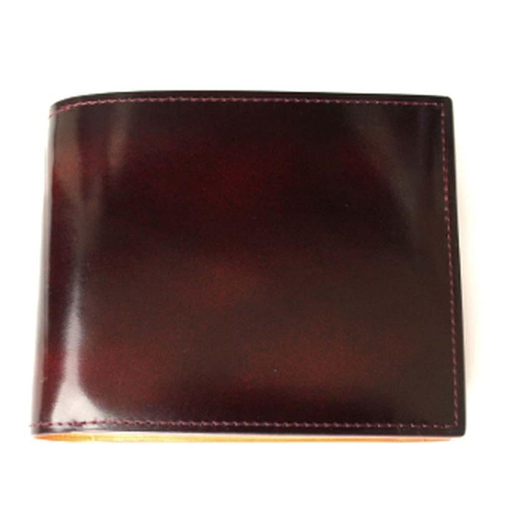 折り財布 GCKA002E-Z /banbi GREDEER 牛革 折財布 小銭入れあり GCKA002E-Z ワイン父の日 お誕生日 お父さん