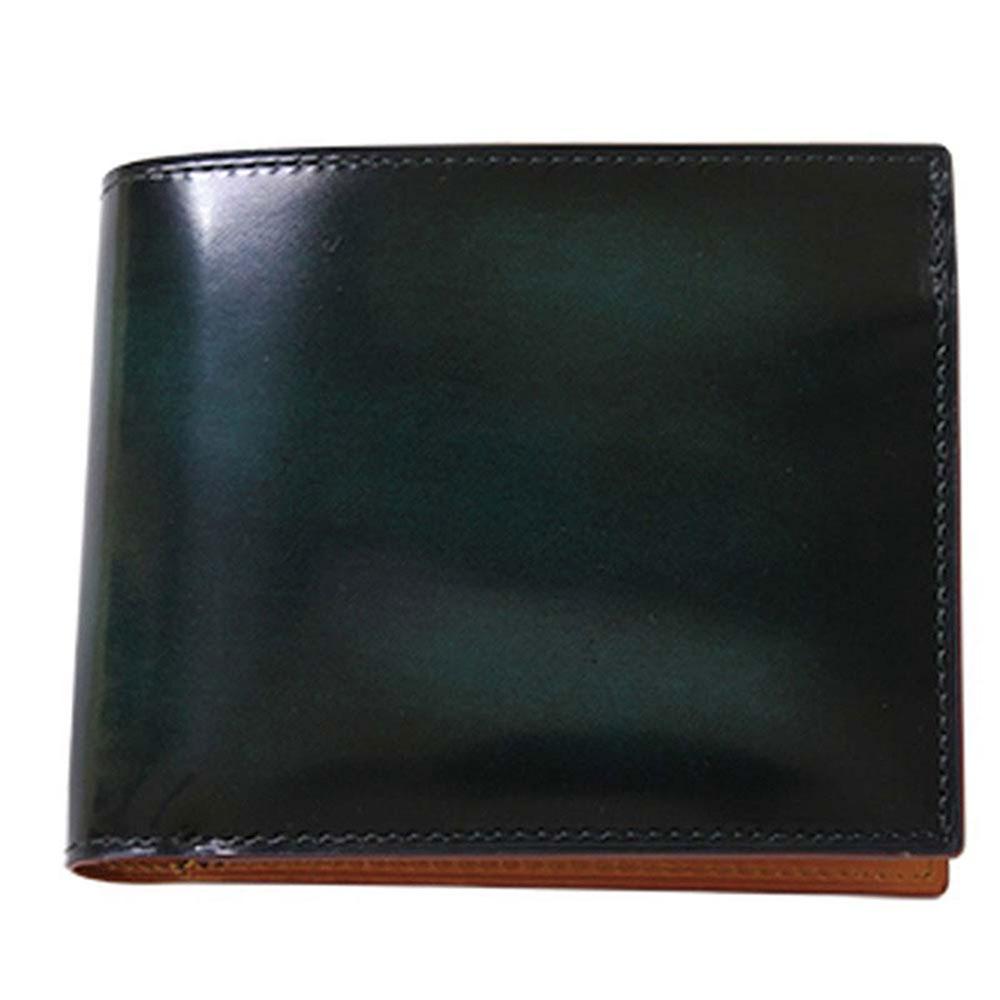 折り財布 GCKA002M-Z /banbi GREDEER 牛革 折財布 小銭入れあり GCKA002M-Z グリーン父の日 お誕生日 お父さん