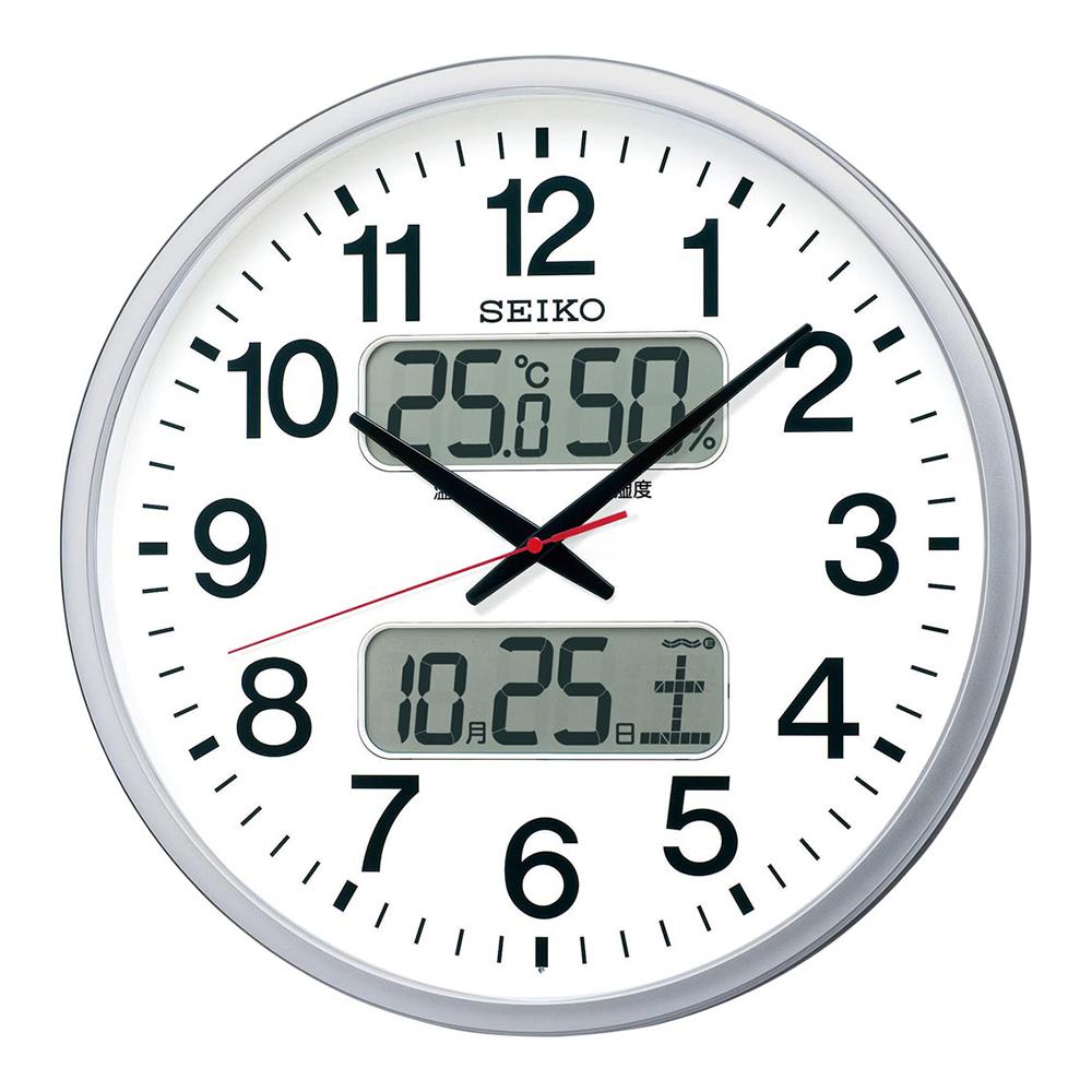 スーパーセール 9月 名入れ対応可 電波時計 掛け時計 | セイコー 大型電波掛時計 KX237S | 掛け時計 | お祝い 竣工 設立 新生活 記念品 プレゼント