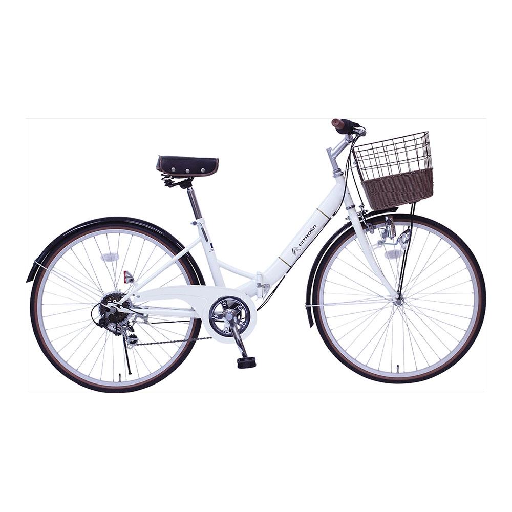 ビンゴ 景品 折たたみ自転車 MG-CTN266G /シトロエン シティFDB266SG MG-CTN266G忘年会 新年会 ゴルフ 幹事 ママ割 ポイント5倍/キャッシュレス還元 ポイント5倍