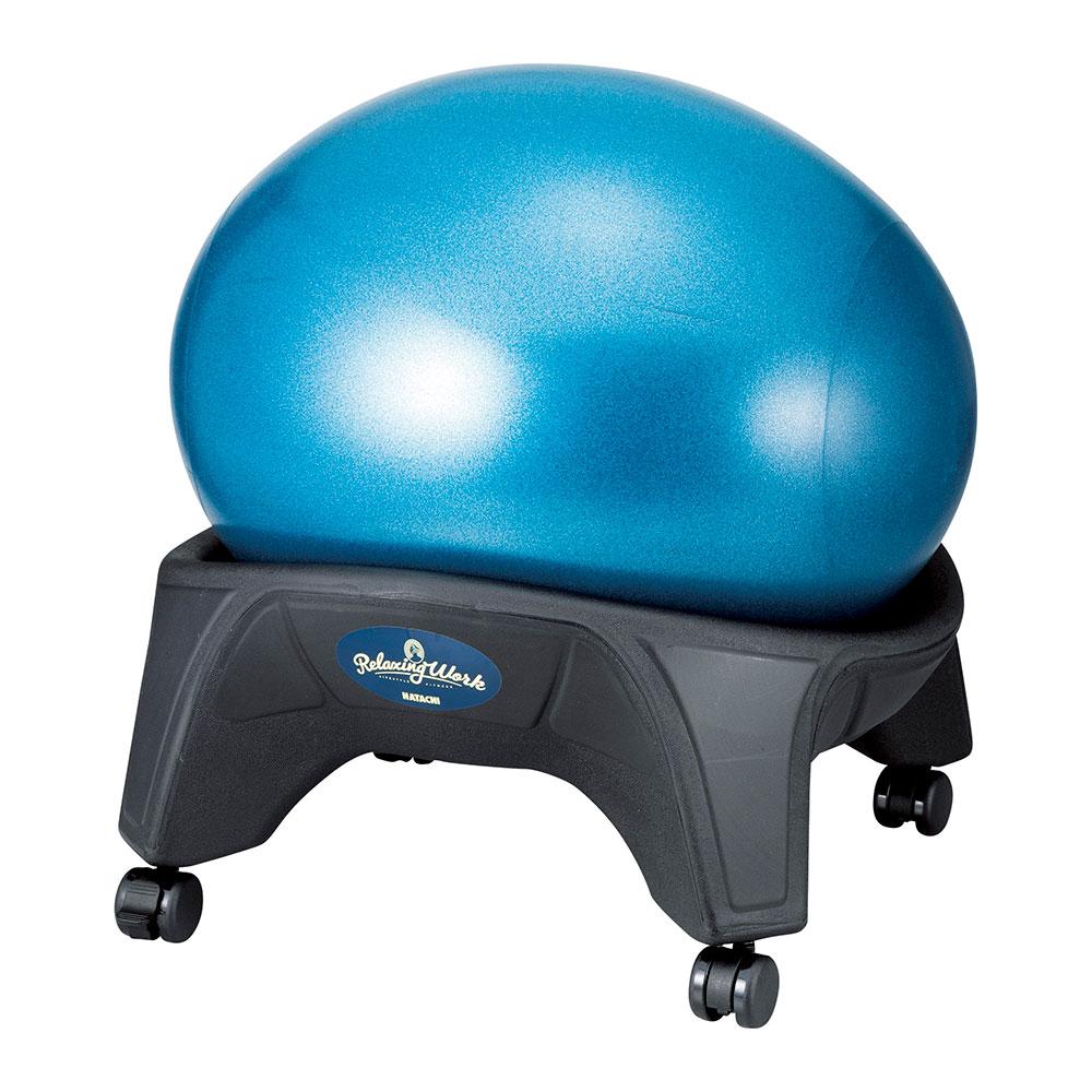 クラウドチェア リラクシングワーク NH3650 バランボールのような椅子 ボウリング 忘年会 新年会 幹事