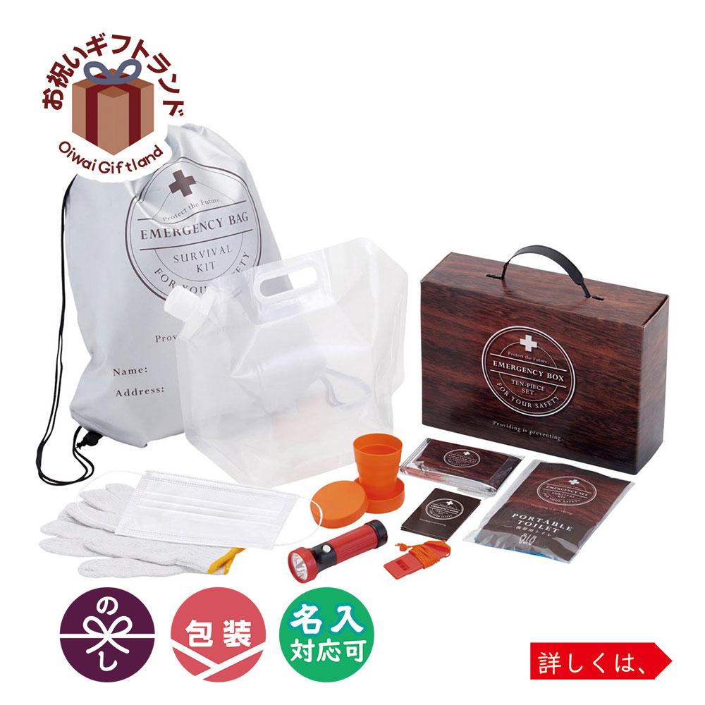 非常用持ちだし袋 直送商品 セーフティライフ SMV-20211 防災ボックス10点セット 開店記念セール