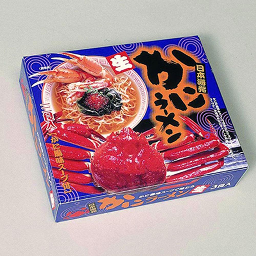特選素材ラーメンシリーズ 特選素材ラーメン シリーズ 日本海かにラーメン 小 ×24箱 出産内い お返し 結婚内祝い お中元 御中元 お歳暮 御歳暮 法事 香典返し