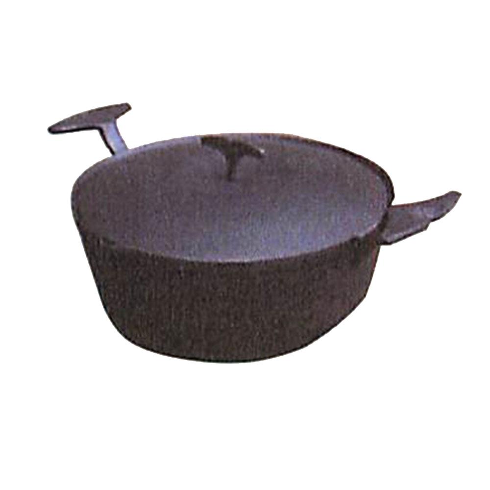 南部鉄器 両手鍋 鉄分補給 C06-05 /南部鉄器 両手鍋 鍋イテフ IH対応 C06-05新築祝い 内祝い 記念品