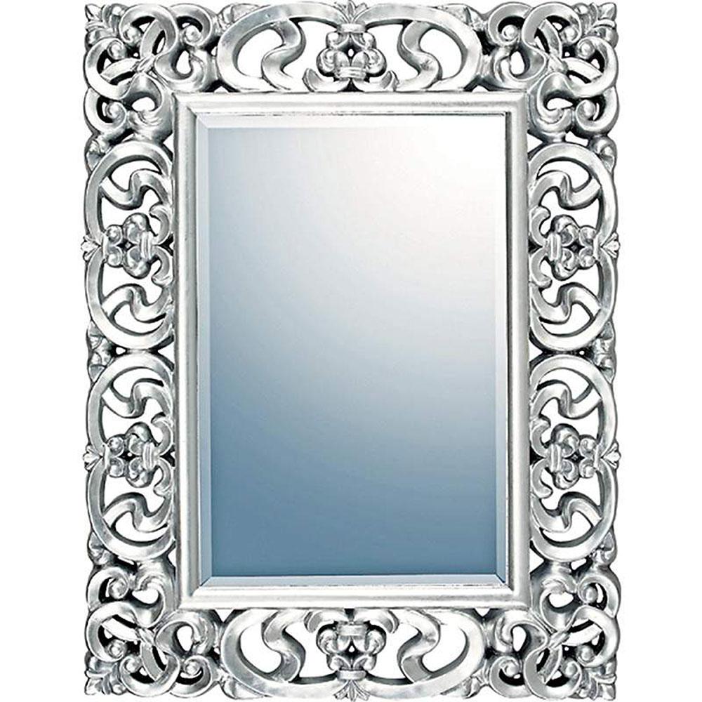 壁掛け鏡 グレース アート ミラー プレミア アンティークシルバー ゴルフコンペ 賞品