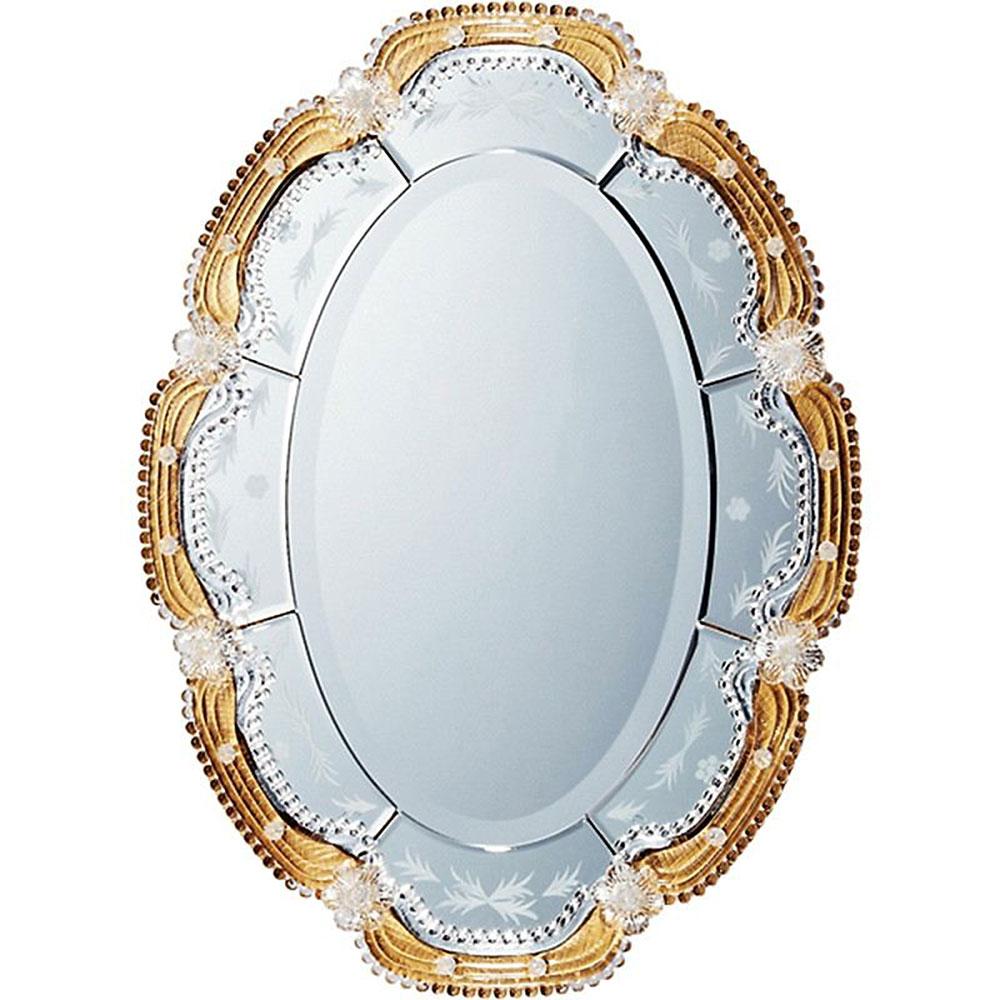 フォトフレーム ムラーノ スタイル ミラー オルビア ゴールド ご出産祝い ご結婚祝い 婚礼 長寿 記念品