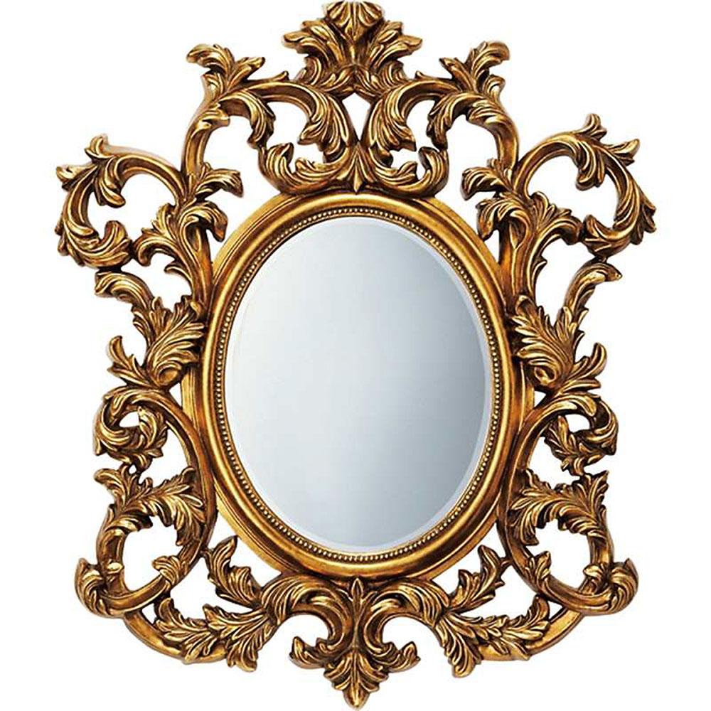 【お祝い 御祝い 記念品 送料無料 ギフト】 壁掛け鏡 グレース スタイル ミラー アルゴス アンティークゴールド GM-30012 開店祝い 事務所開き 御祝 記念品