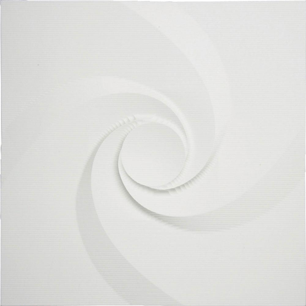 壁掛け飾り オブジェ お祝い 記念品 おしゃれ かわいい | プラデック ウォール アート 「エディ(ホワイト)」 | 3D絵画 PL-15001 | 絵画 |