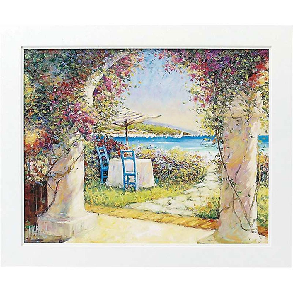 壁掛け飾り 絵画 お祝い 記念品 おしゃれ かわいい | マルコ マヴロヴィッチ 「募る思い Lサイズ」 | 絵画 MM-08004 | 絵画 |