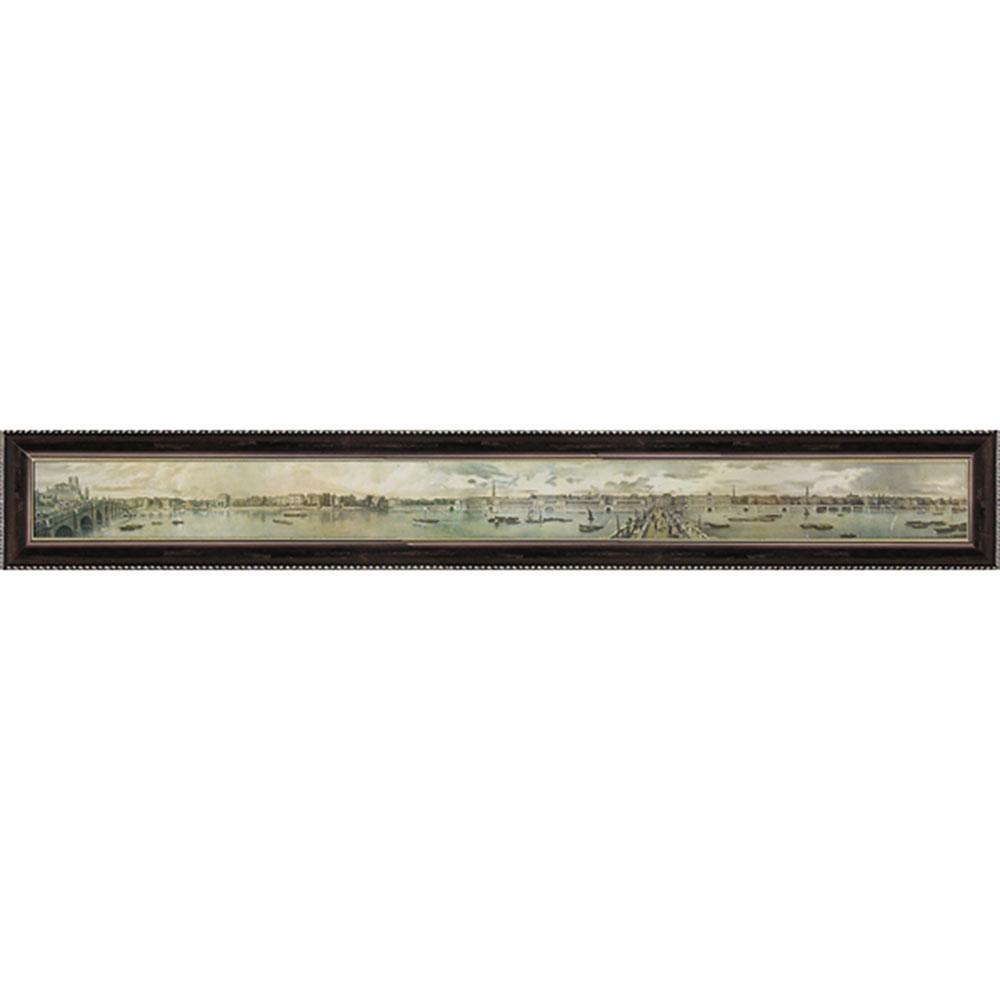 壁掛け飾り 絵画 お祝い 記念品 おしゃれ かわいい TB-13805 /トーマス マン ベイネス 「ヴェー オブ ザ ノース バンク オブ ザ テムズ1」 TB-13805 キャッシュレス還元 ポイント5倍