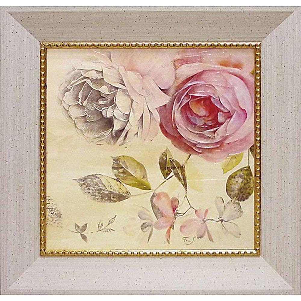 壁掛け飾り 絵画 お祝い 記念品 おしゃれ かわいい FS-16502 /フェリー ステファニア 「エターナル ローズ2」 FS-16502 キャッシュレス還元 ポイント5倍