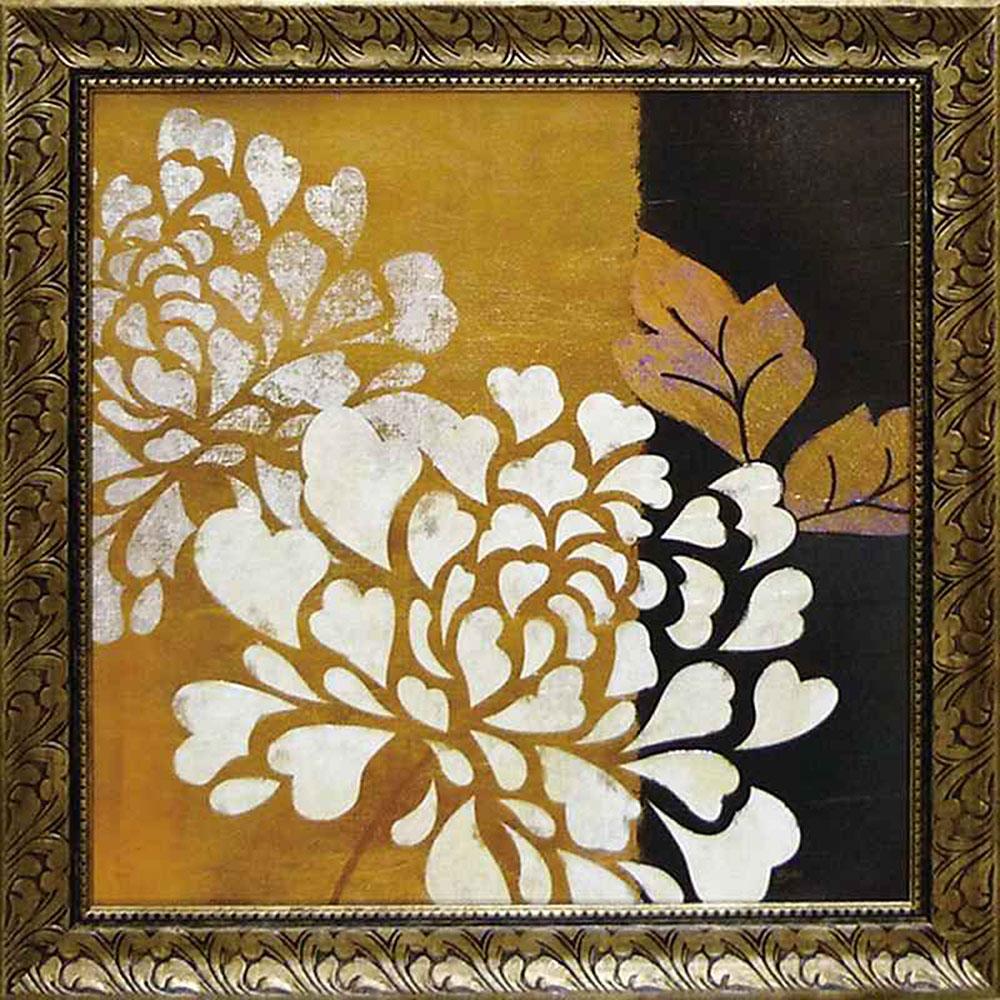 壁掛け飾り 絵画 お祝い 記念品 おしゃれ かわいい | ベラ ドス サントス 「グラマー オブ ゴールド1」 | 絵画 BD-13501 | 絵画 |