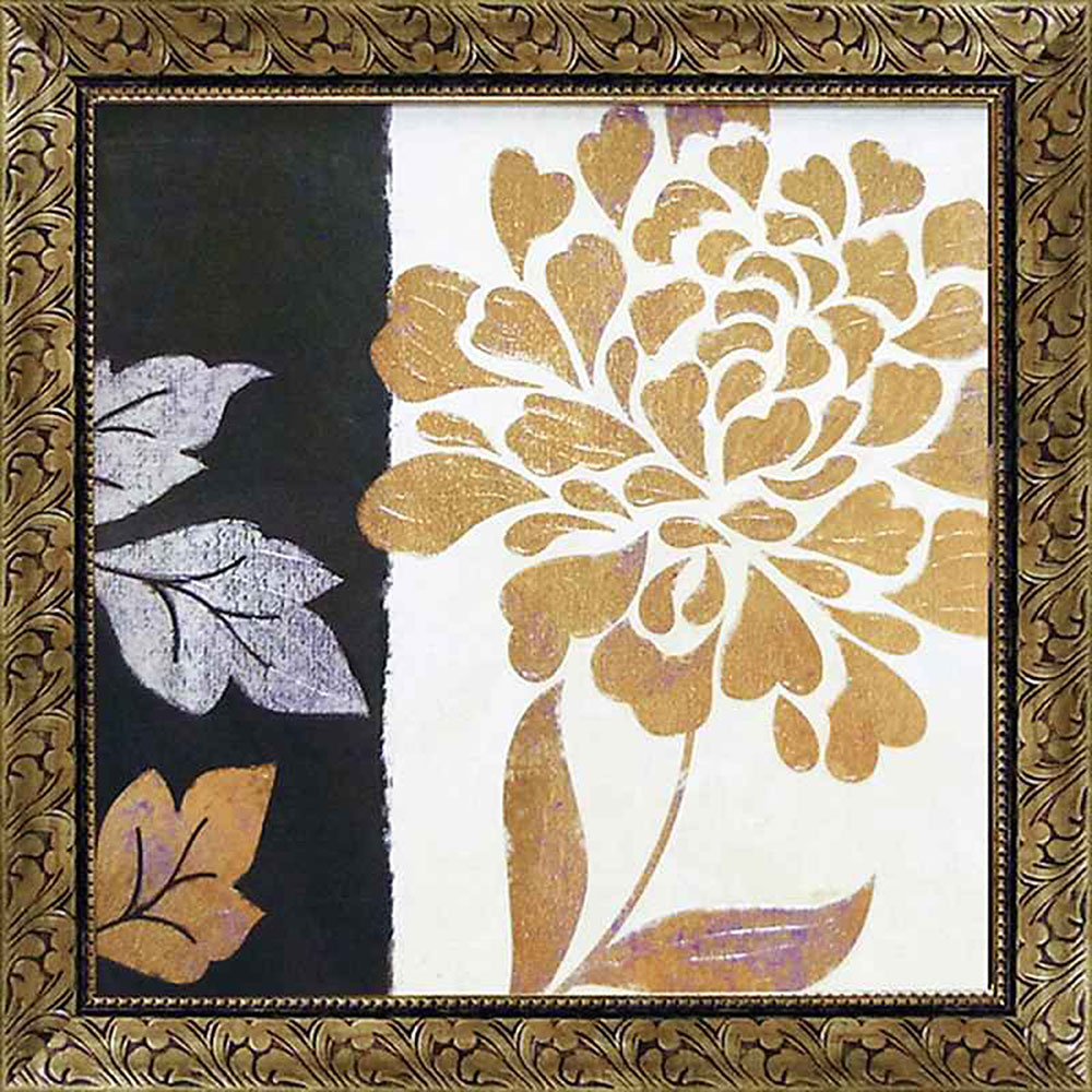 壁掛け飾り 絵画 お祝い 記念品 おしゃれ かわいい   ベラ ドス サントス 「グラマー オブ ゴールド2」   絵画 BD-13502   絵画  