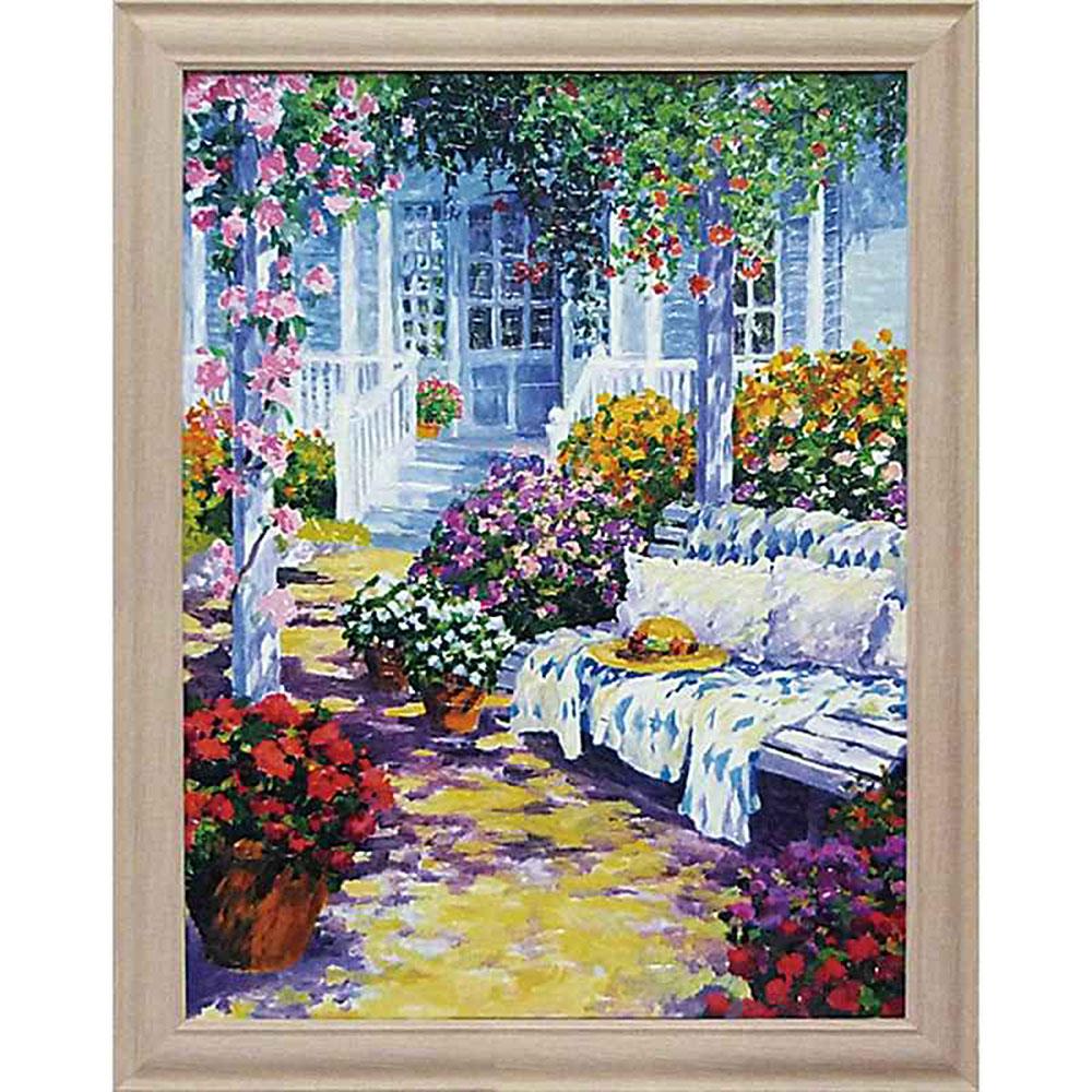 壁掛け飾り 絵画 お祝い 記念品 おしゃれ かわいい | ジュリアン アスキンス 「サマー ドリーミング」 | 絵画 JA-12002 | 絵画 |