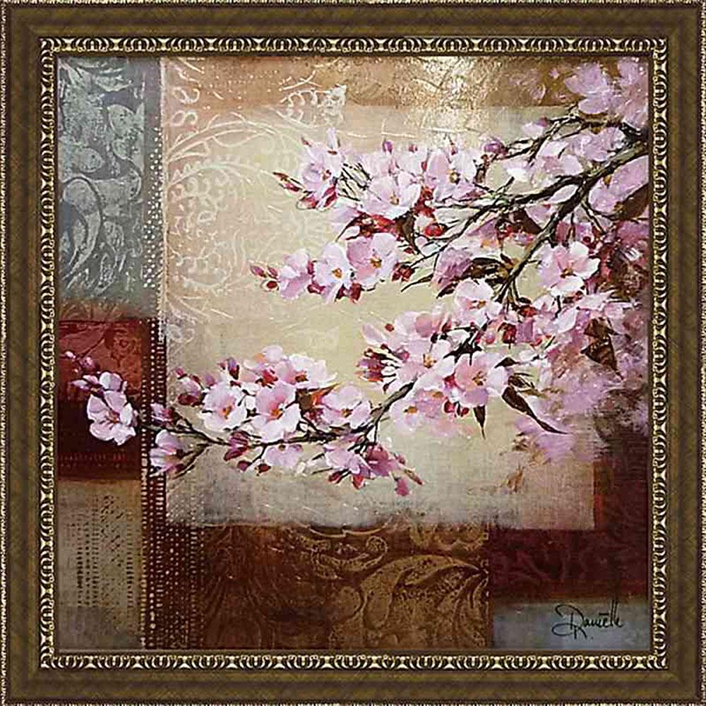 壁掛け飾り 絵画 お祝い 記念品 おしゃれ かわいい | ダニエル ネンガーマン 「チェリー ブロッサム1」 | 絵画 DN-15013 | 絵画 |