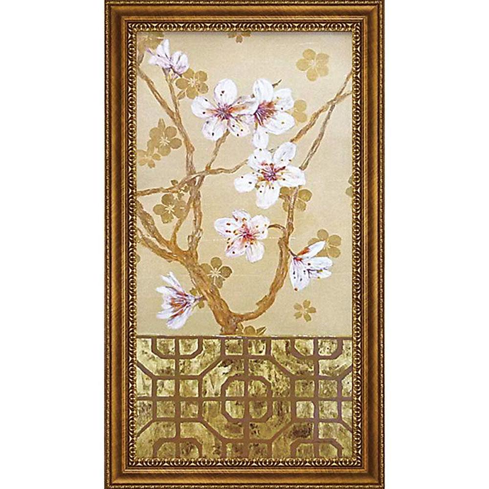 壁掛け飾り 絵画 お祝い 記念品 おしゃれ かわいい   コレン サラ 「オリガミ アンド ブロッサム」   絵画 CS-17004   絵画  