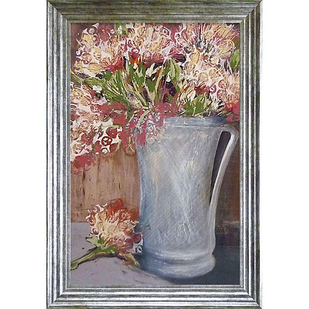 壁掛け飾り 絵画 お祝い 記念品 おしゃれ かわいい | レスリー バーンセン 「シンプル エレガンス」 | 絵画 LB-28004 | 絵画 |