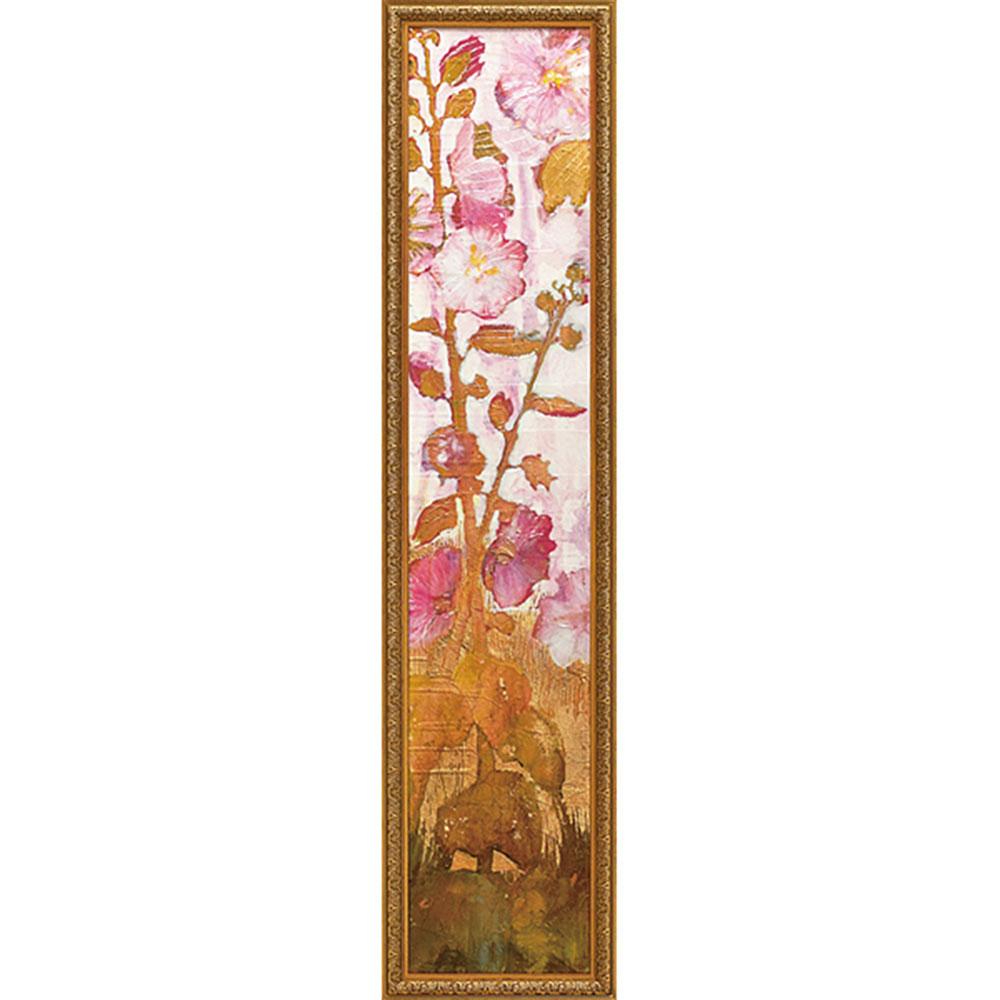 壁掛け飾り 絵画 お祝い 記念品 おしゃれ かわいい | サラ ノトベール バッシーニ 「トリプティーク ローズ トレミエール3」 | 絵画 SN-13013 | 絵画 |