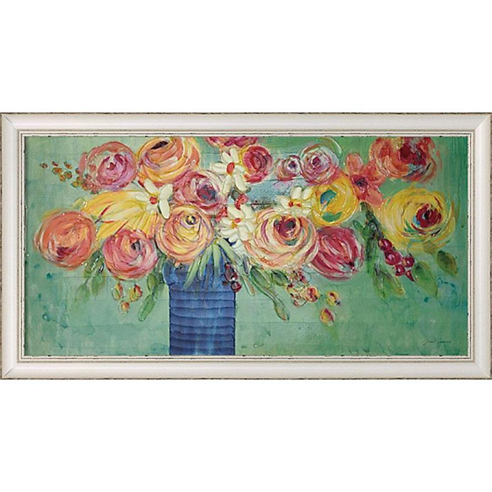壁掛け飾り 絵画 お祝い 記念品 おしゃれ かわいい | ジャーゲン ゴッツクラグ 「シング ソング フラワーズ」 | 絵画 JG-15011 | 絵画 |