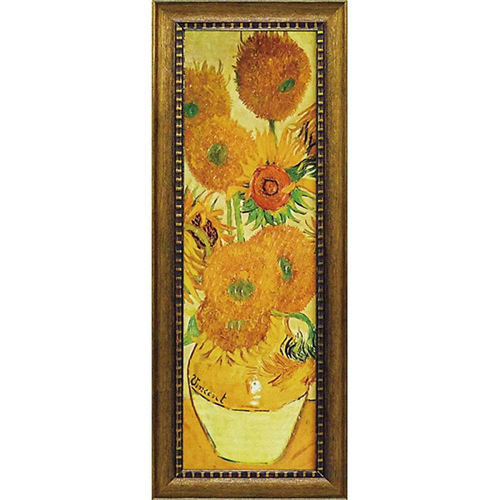 壁掛け飾り 絵画 お祝い 記念品 おしゃれ かわいい MW-18092 /ゴッホ ミュージアムシリーズ 「ひまわり」 MW-18092 キャッシュレス還元 ポイント5倍
