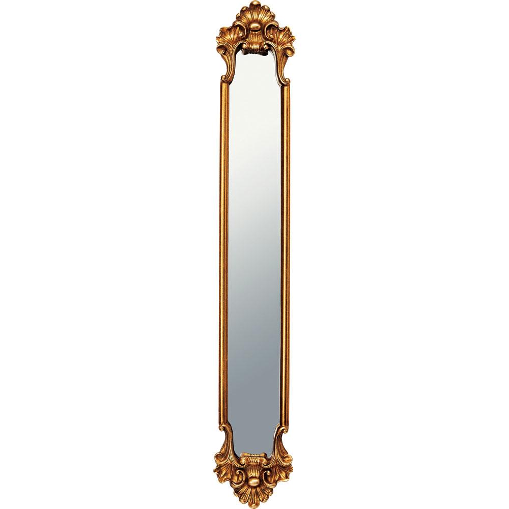 鏡 ミラー おしゃれ かわいい GM-08012 /グレース アート ミラー 「アバロン(アンティークゴールド)」 壁掛用 GM-08012