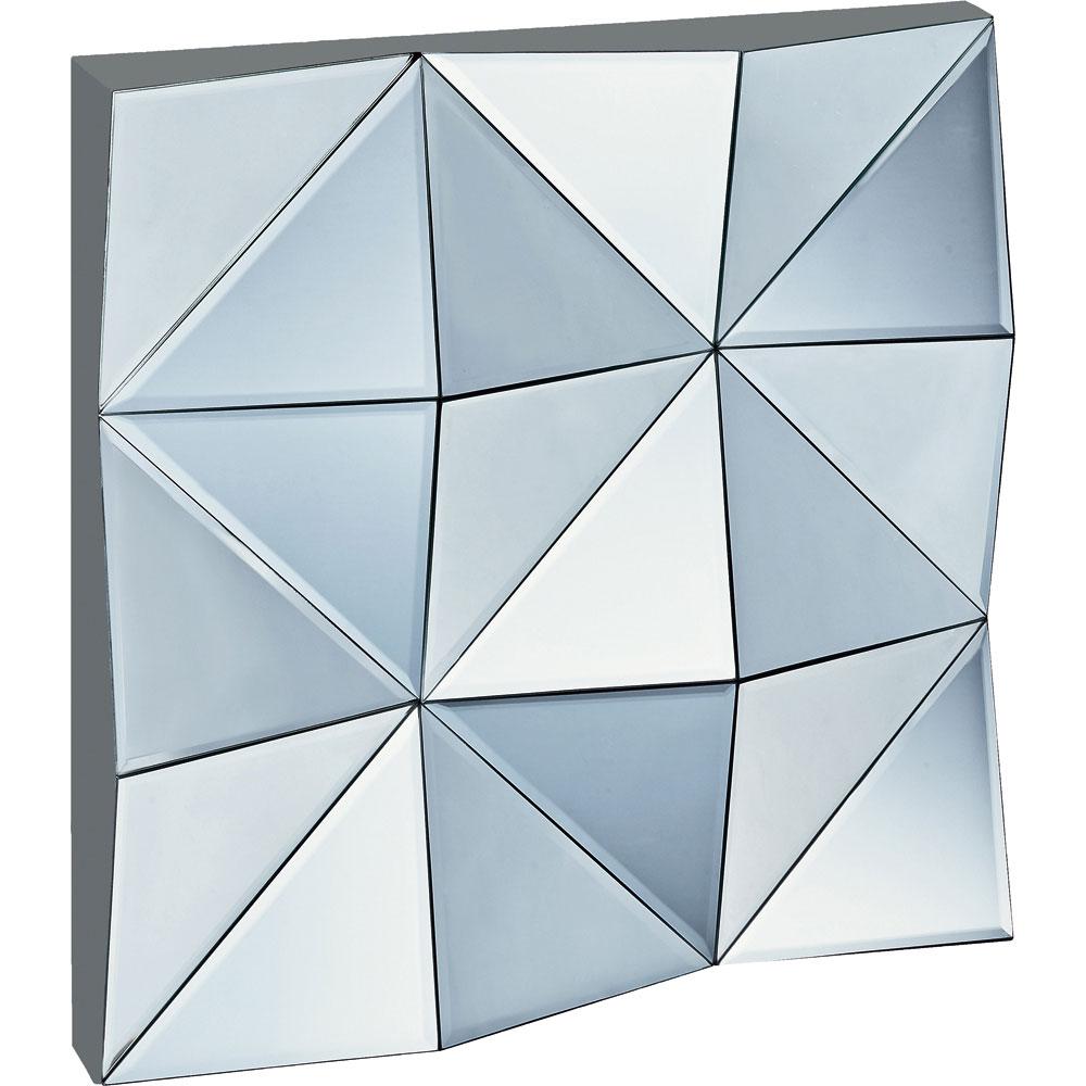 鏡 ミラー おしゃれ かわいい | スペース ミラーアート 「トライアングル」 | 鏡 ミラー SM-20001 | 鏡 |