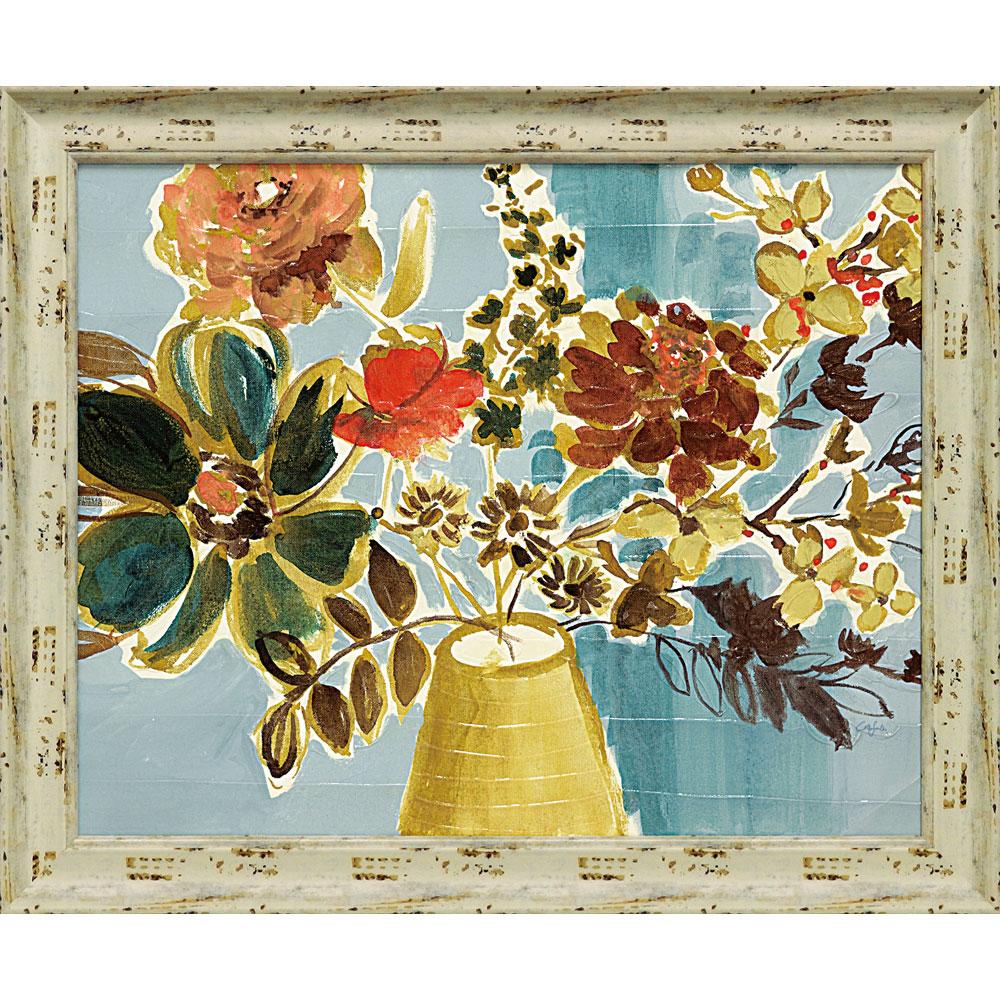 壁掛け飾り 絵画 お祝い 記念品 おしゃれ かわいい /コリーン サンドランド 「ルル ブーケ」 CS-11001