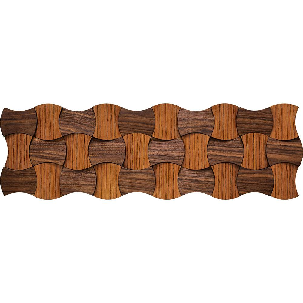 壁掛け飾り オブジェ お祝い 記念品 おしゃれ かわいい PL-25041 /プラデック ウッド オリガミ 「デュオトーン スプール(ロング)」 壁掛用(縦横両用)、壁掛け金具付き PL-25041 キャッシュレス還元 ポイント5倍