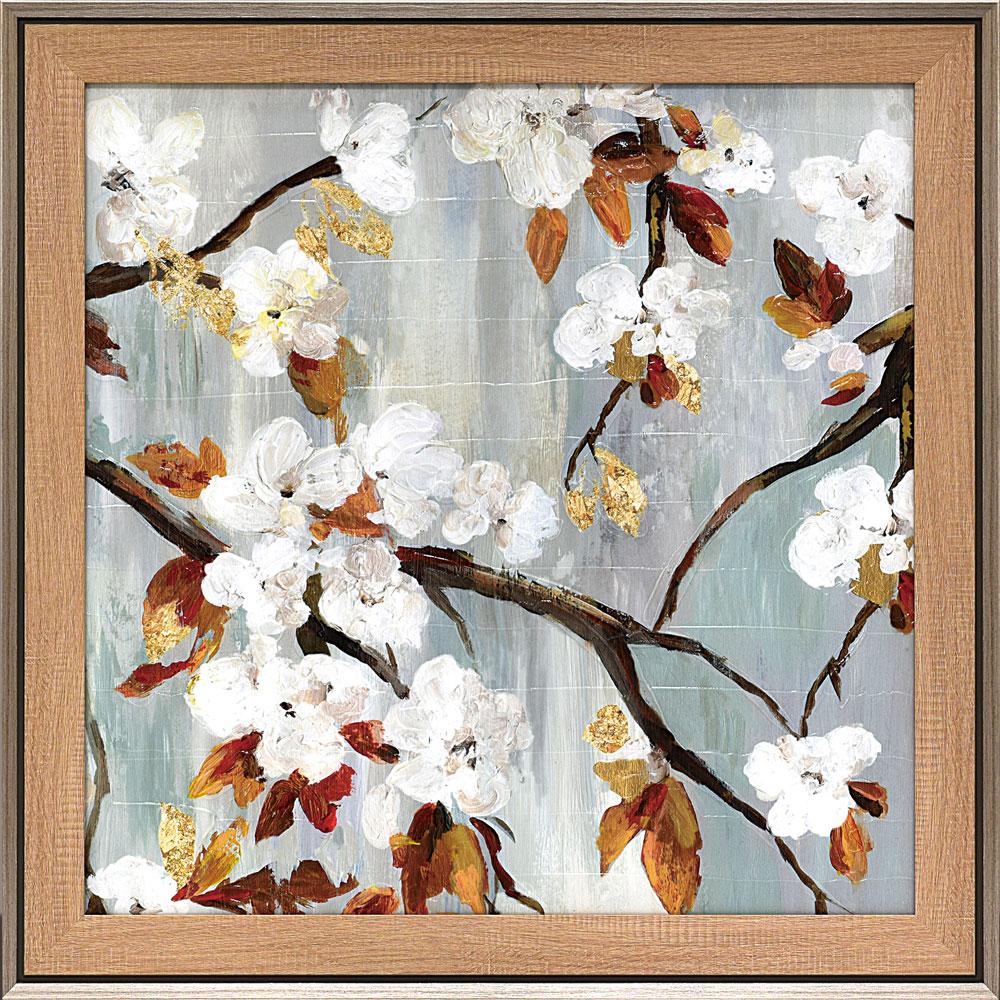 壁掛け飾り 絵画 お祝い 記念品 おしゃれ かわいい AJ-22002 /エイジア イェンセン 「ゴールデン ブルーム」 AJ-22002 キャッシュレス還元 ポイント5倍