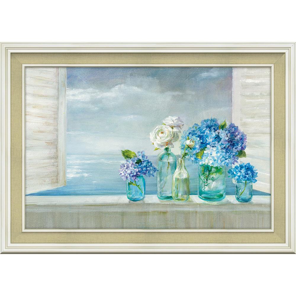 壁掛け飾り 絵画 お祝い 記念品 おしゃれ かわいい | ダンフイ ナイ 「ビューティフル デイ アット ザ ビーチ」 | 絵画 DN-13004 | 絵画 |