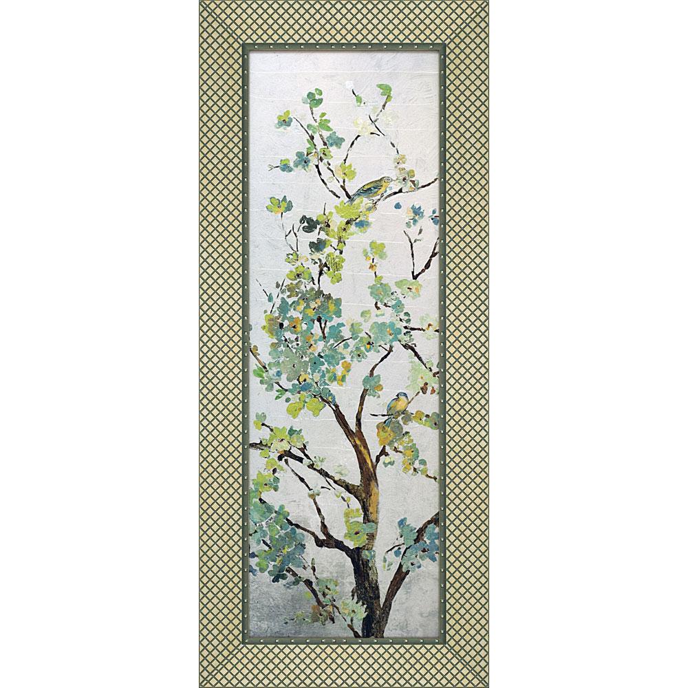 壁掛け飾り 絵画 お祝い 記念品 おしゃれ かわいい AJ-18003 /エイジア イェンセン 「サーガ ブランチ1」 AJ-18003 キャッシュレス還元 ポイント5倍