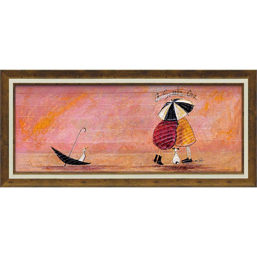 壁掛け飾り 絵画 お祝い 記念品 おしゃれ かわいい | サム トフト 「スニーキー ワン」 | 絵画 ST-15015 | 絵画 |