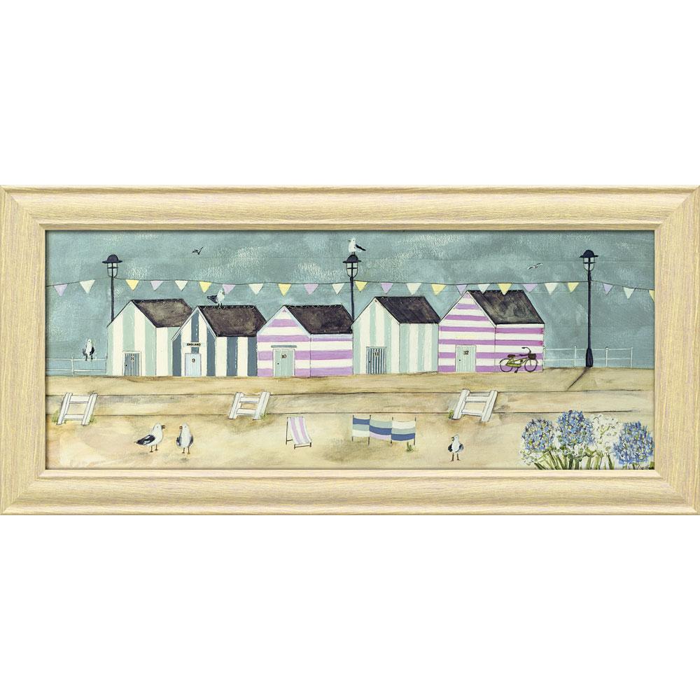 壁掛け飾り 絵画 お祝い 記念品 おしゃれ かわいい | ルイーズ オハラ 「プロムナード」 | 絵画 LO-17011 | 絵画 |