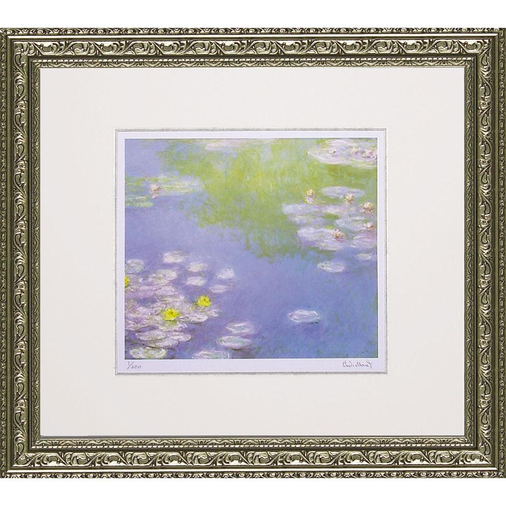 壁掛け飾り 絵画 お祝い 記念品 おしゃれ かわいい | ミュージアム シリーズ シグレー モネ 「睡蓮」 | 版画 MW-18040 | 絵画 |