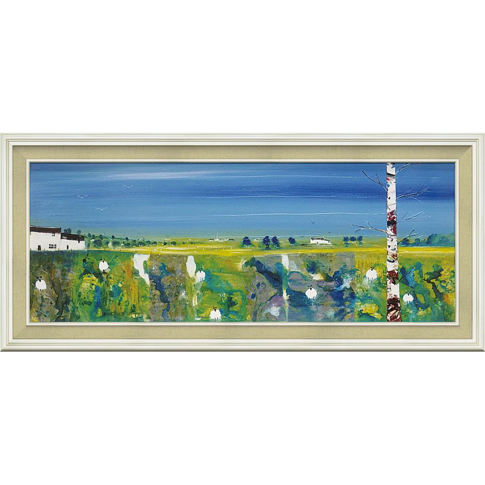 壁掛け飾り 絵画 お祝い 記念品 おしゃれ かわいい   リー マッカーシー 「ファームランド」   絵画 LM-15001   絵画  