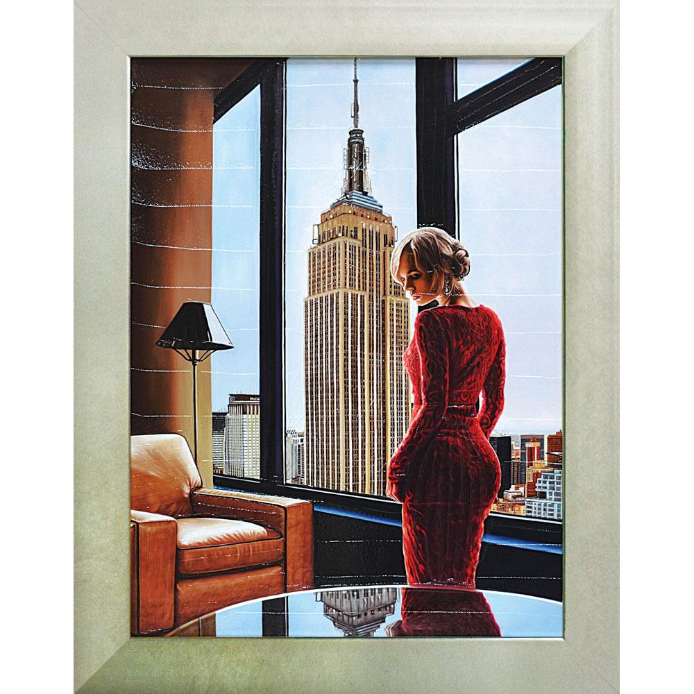壁掛け飾り 絵画 お祝い 記念品 おしゃれ かわいい PB-15012 /ピエール ベンソン 「インテリア イン ニューヨーク」 PB-15012 キャッシュレス還元 ポイント5倍