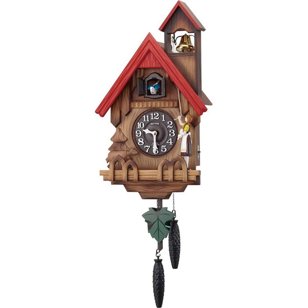 名入れプレート付き 掛け時計 カッコーチロリアンR 名入れプレート付 き 新築祝い 竣工記念 開店祝い 開業祝い プレゼント