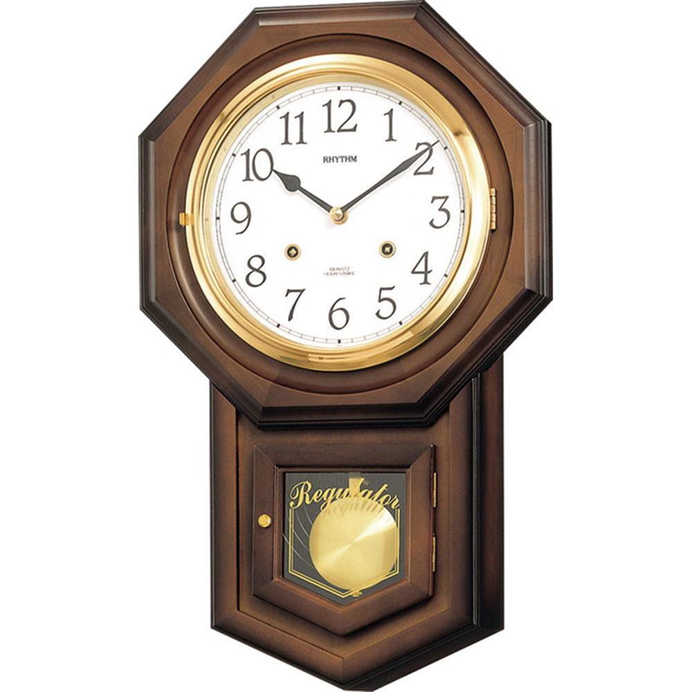 名入れプレート付き 掛け時計 フィオリータR 名入れプレート付 き 新築祝い 竣工記念 開店祝い 開業祝い プレゼント