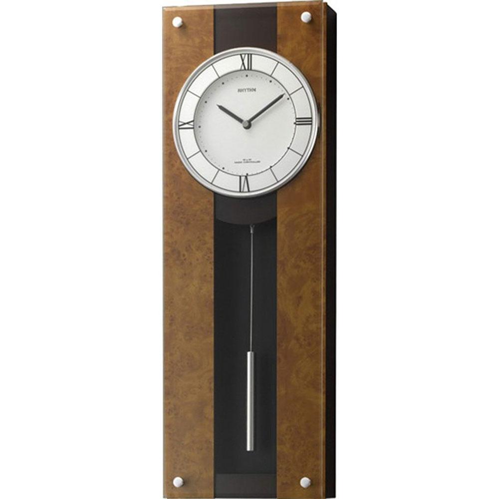 名入れプレート付き 電波_掛け時計 モダンライフM01 名入れプレート付 き 新築祝い 竣工記念 開店祝い 開業祝い プレゼント