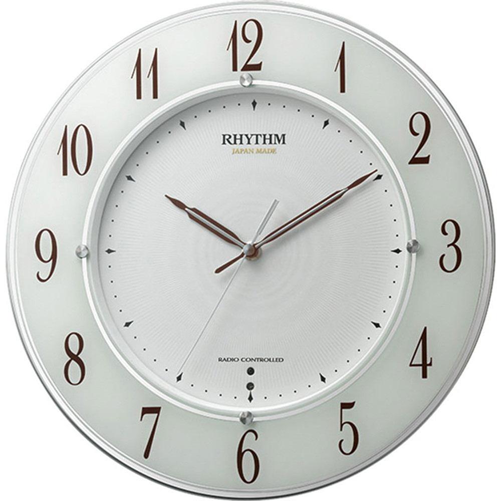 名入れプレート付き 電波_掛け時計 スリーウェイブM847 名入れプレート付 き 新築祝い 竣工記念 開店祝い 開業祝い プレゼント